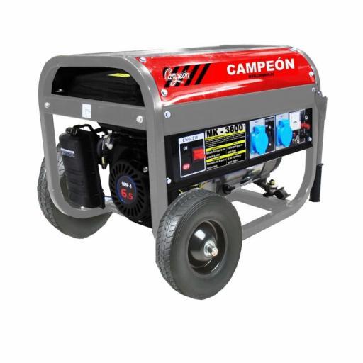 Generador Campeón 4 tiempos MK3600 6,5CV 196cc