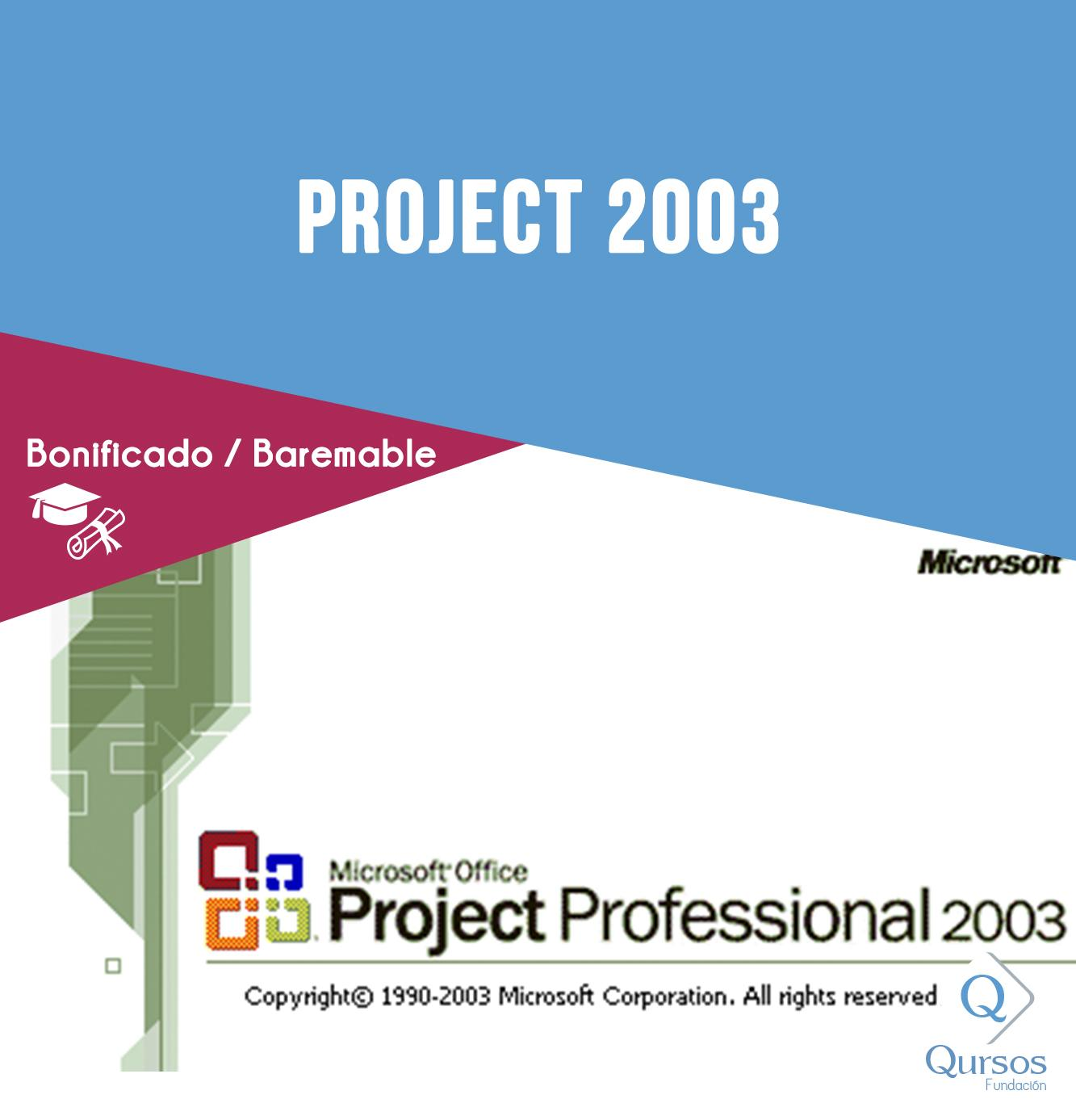 Project 2003 - 30 Horas