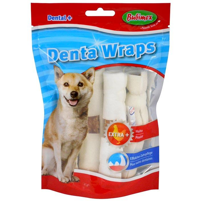 Rollitos masticables con pollo Denta Wraps de BUBIMEX