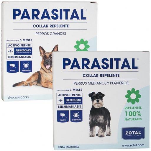Collar Repelente Antiparasitario Parasital