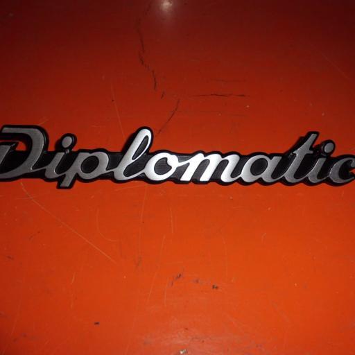 ANAGRAMA DIPLOMATIC