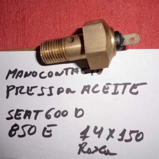Monocontacto presión de aceite de Seat 850E y Seat 600D [0]