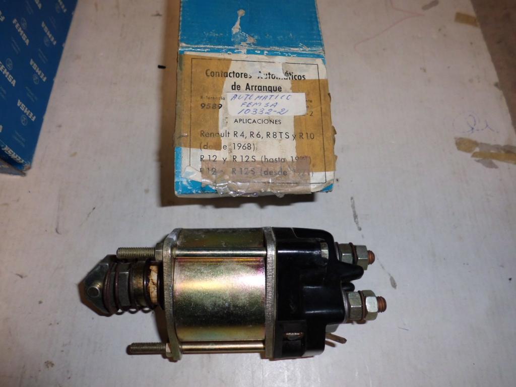 Automático femsa de Renault 8 y Renault 10.