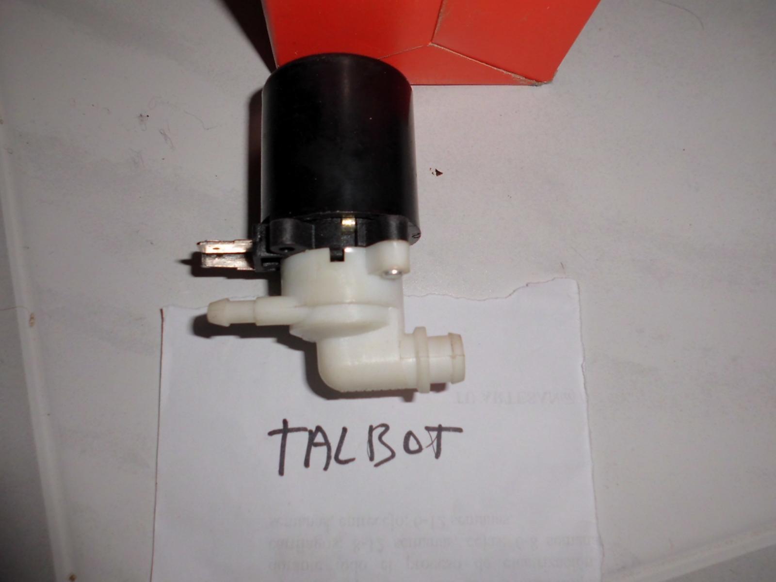 Bomba chorritos de Talbot Horizon