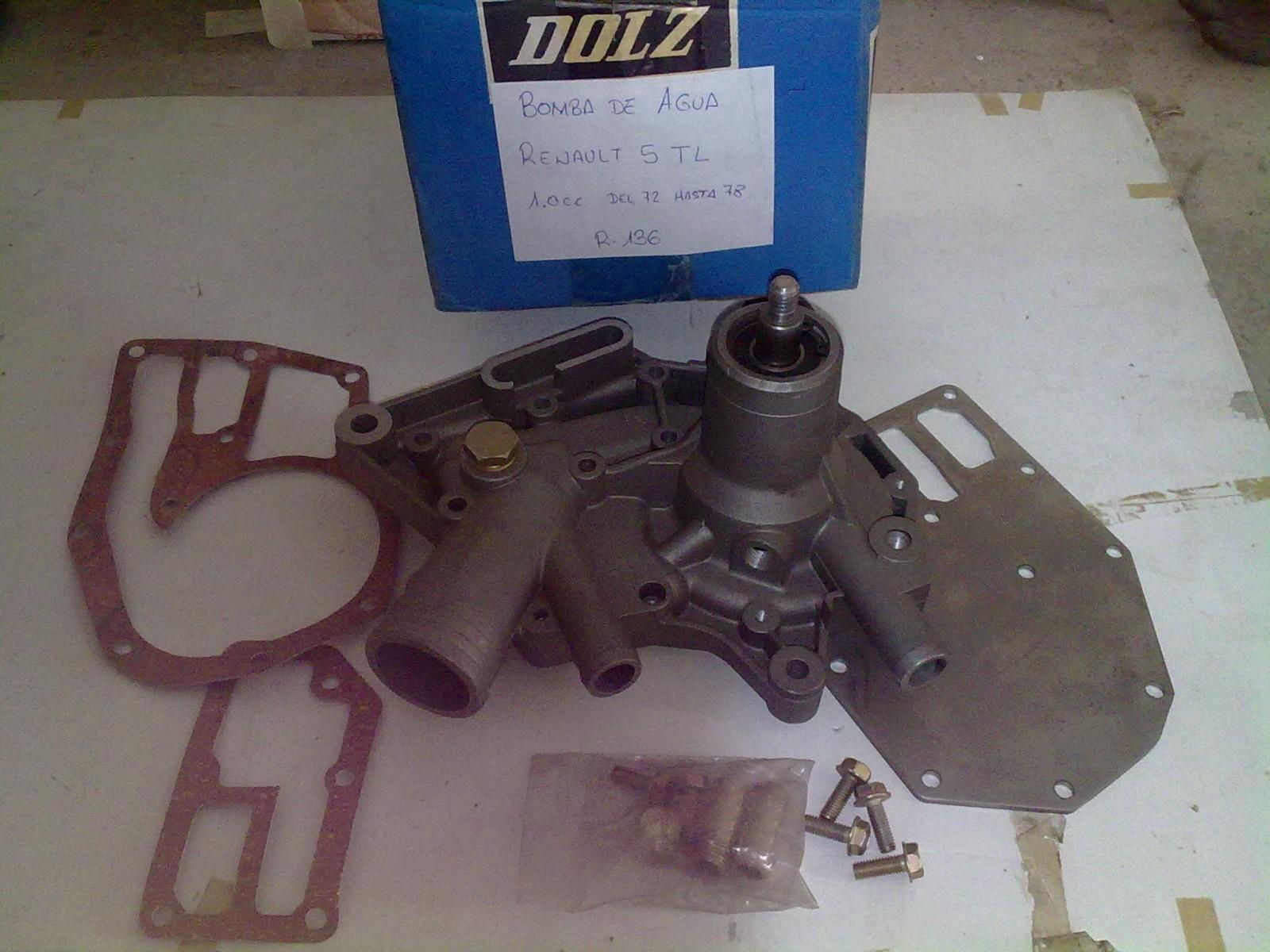 Bomba de agua Renault 5 tl