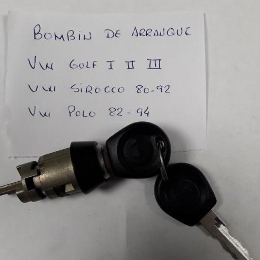 BOMBIN LLAVE CONTACTO VW GOLF POLO SIROCCO