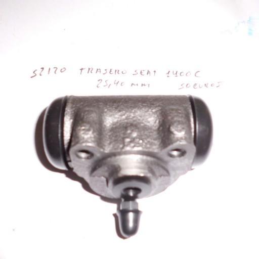 BOMBIN FRENOS TRASERO SEAT 1400 25.40MM