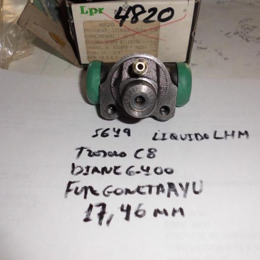 BOMBIN TRASERO CITROEN C8 Y DYANE 400