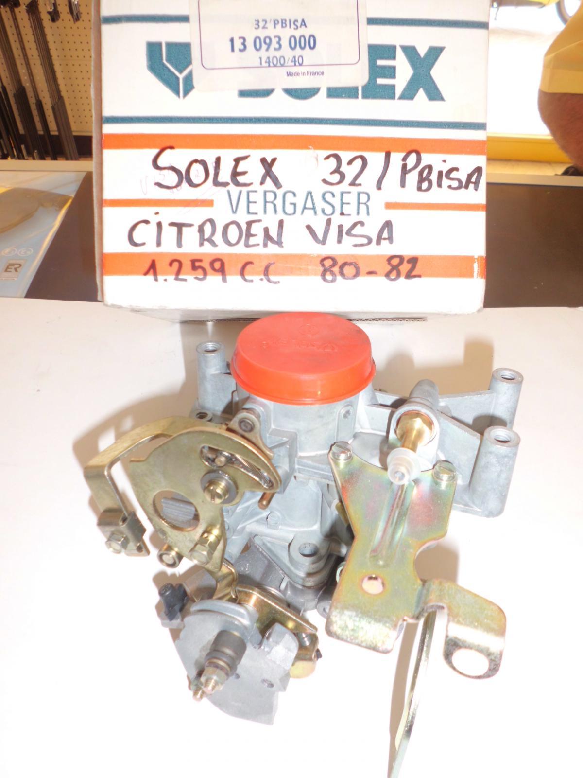 Carburador Citroen Visa 1293cc solex