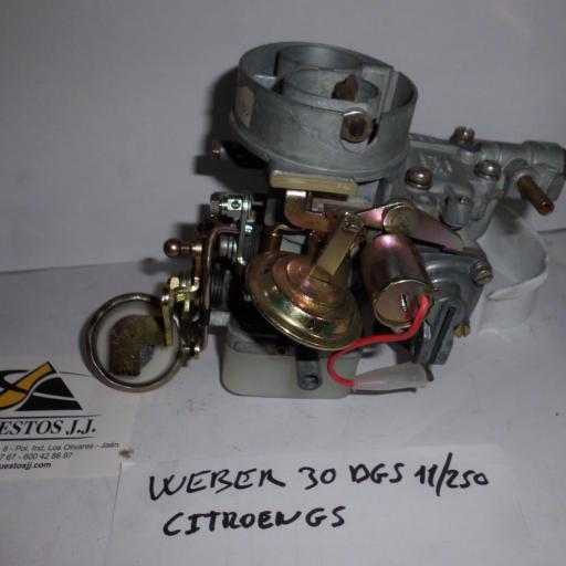 CARBURADOR WEBER 30DGS 11-250 CITROEN GS