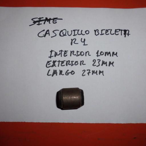 CASQUILLO BIELETA RENAULT 4