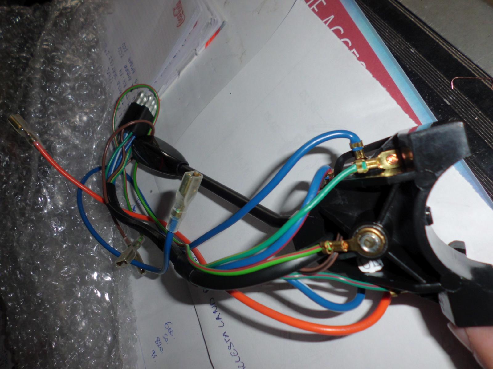 Conmutador Luces, Bocina e intermitencias Mini