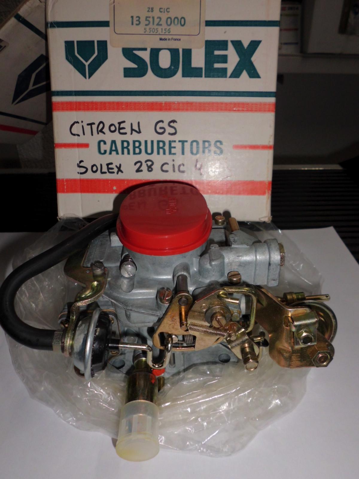 Carburador de Citroen GS