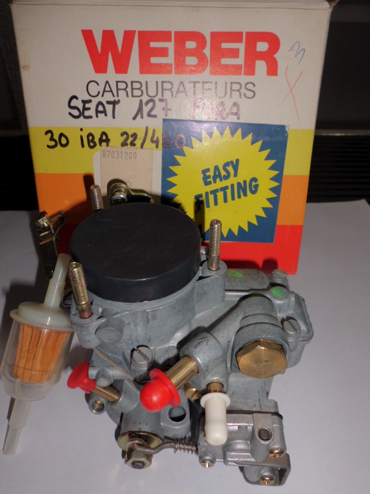 Carburador de Seat 127 Fura