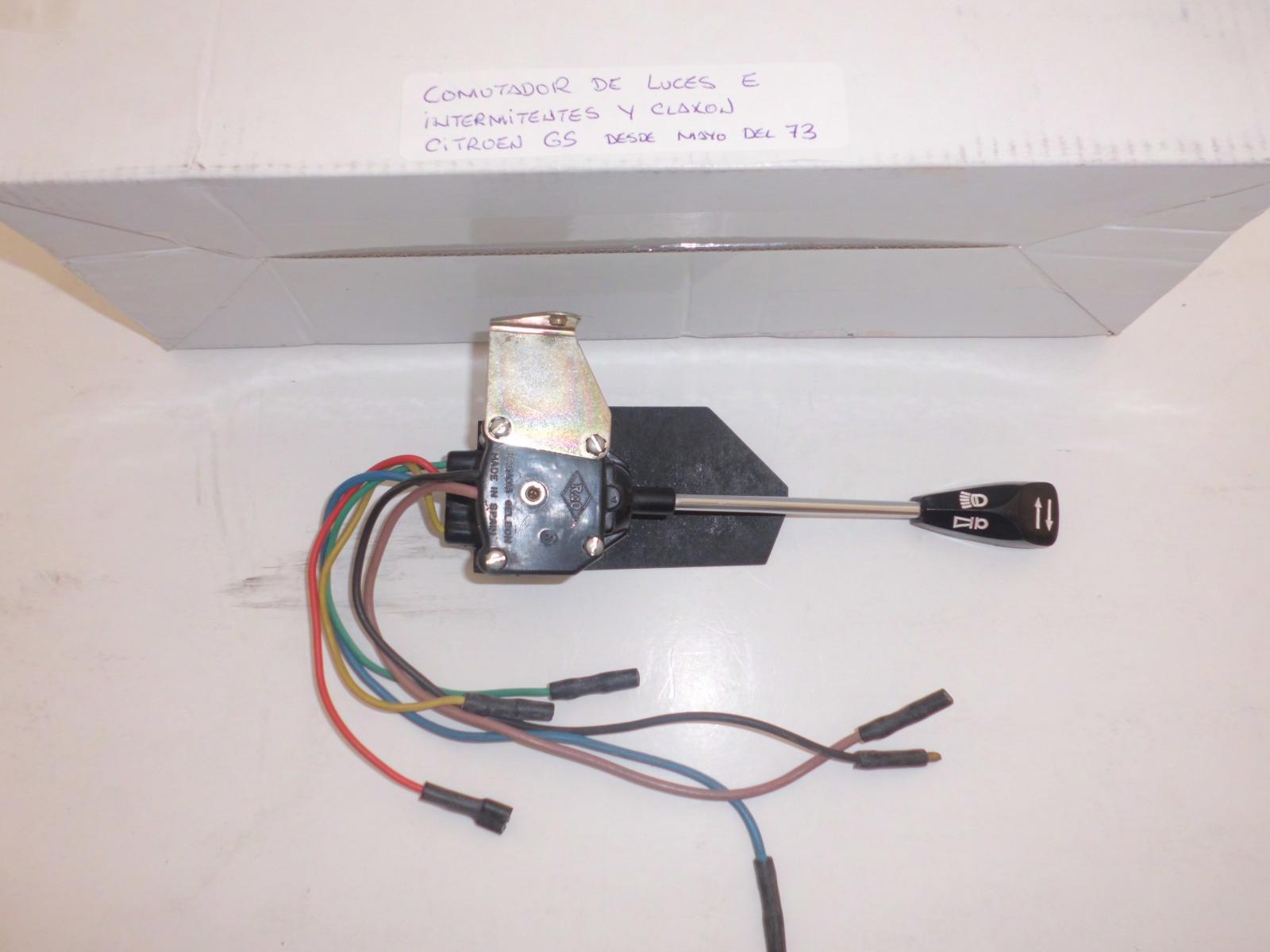 Conmutador de luces de Citroen GS