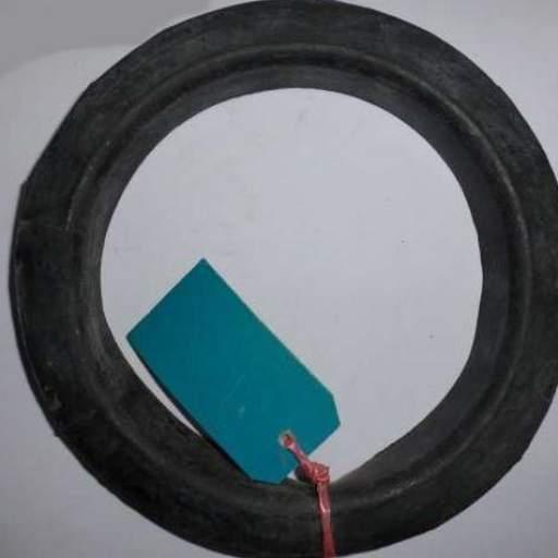 Goma superior del muelle de la suspensión trasera de Seat 600 [0]