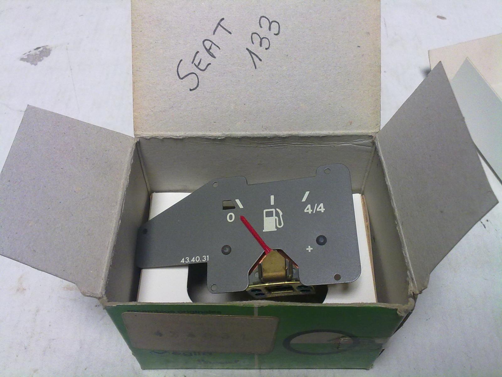Marcador de gasolina de Seat 133