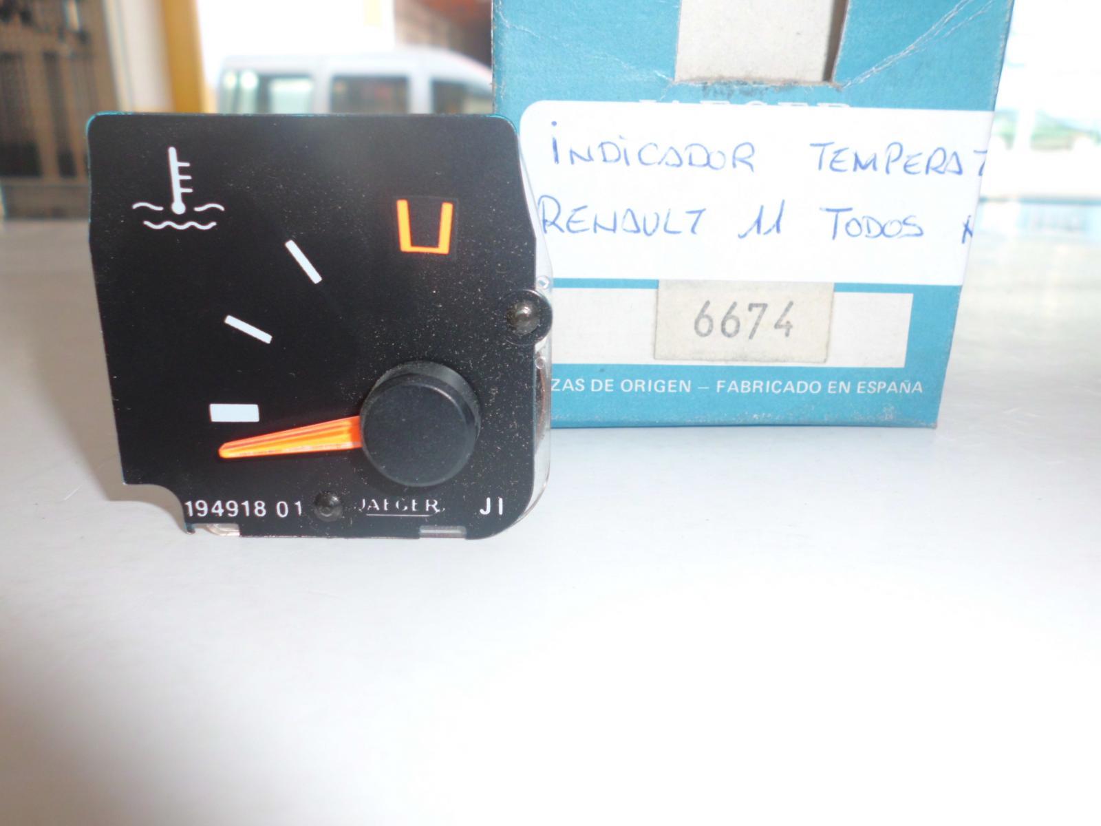 Indicador de temperatura de Renault 11