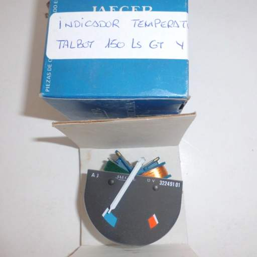 Indicador de temperatura de Talbot 150 [0]