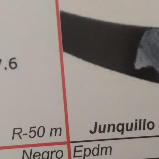 JUNQUILLO GOMA PARABRISAS