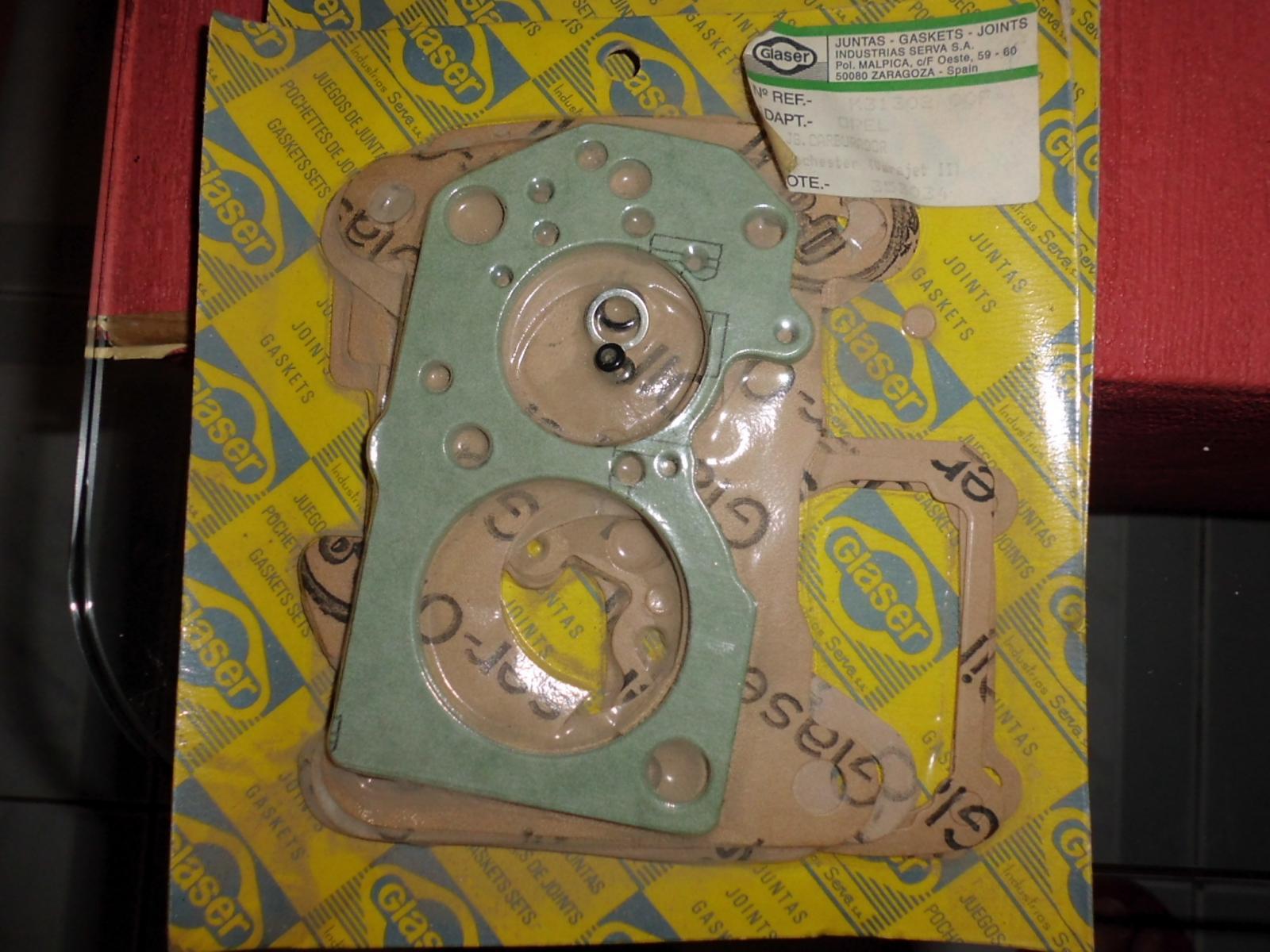 Junta carburador Opel Ascona Kadett record carburador Rochester-Varajet II