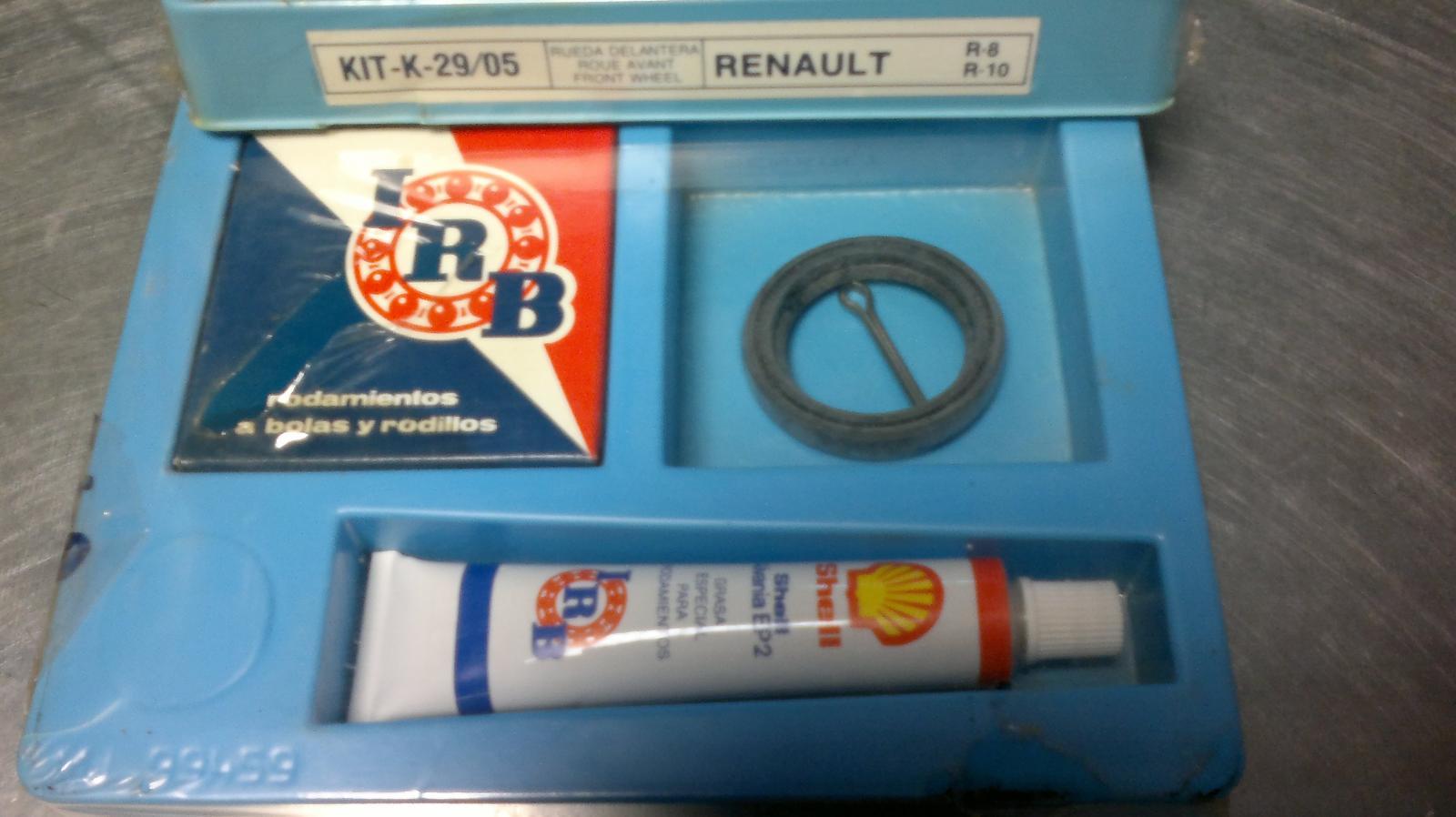Kit de rueda trasera de Renault 8 y Renault 10