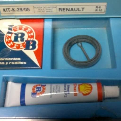 Kit de rueda trasera de Renault 8 y Renault 10 [0]