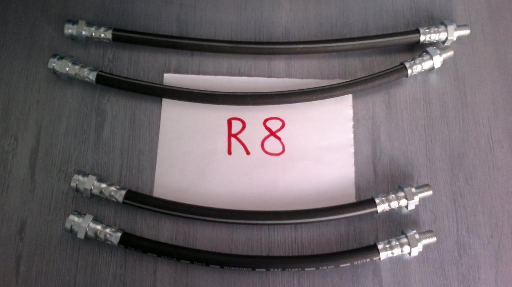 Latiguillos de freno de Renault 8