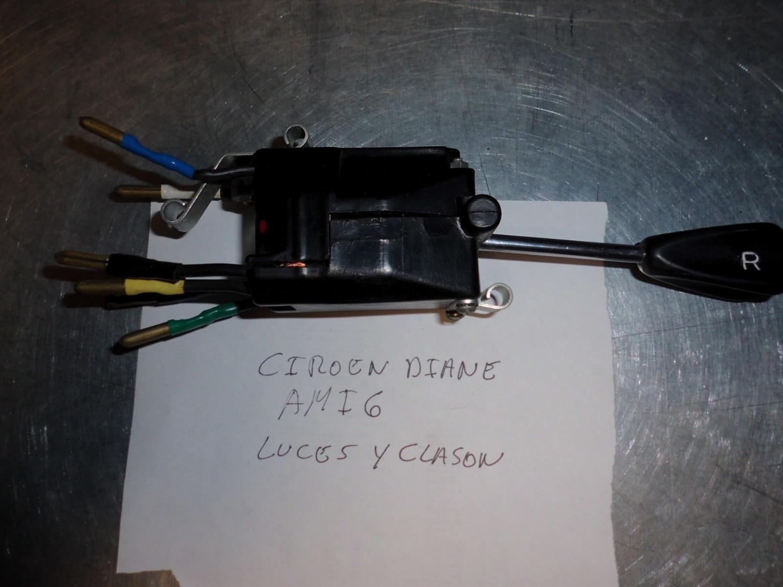 Conmutador de luces y bocina de Citroen Dyane Ami 6