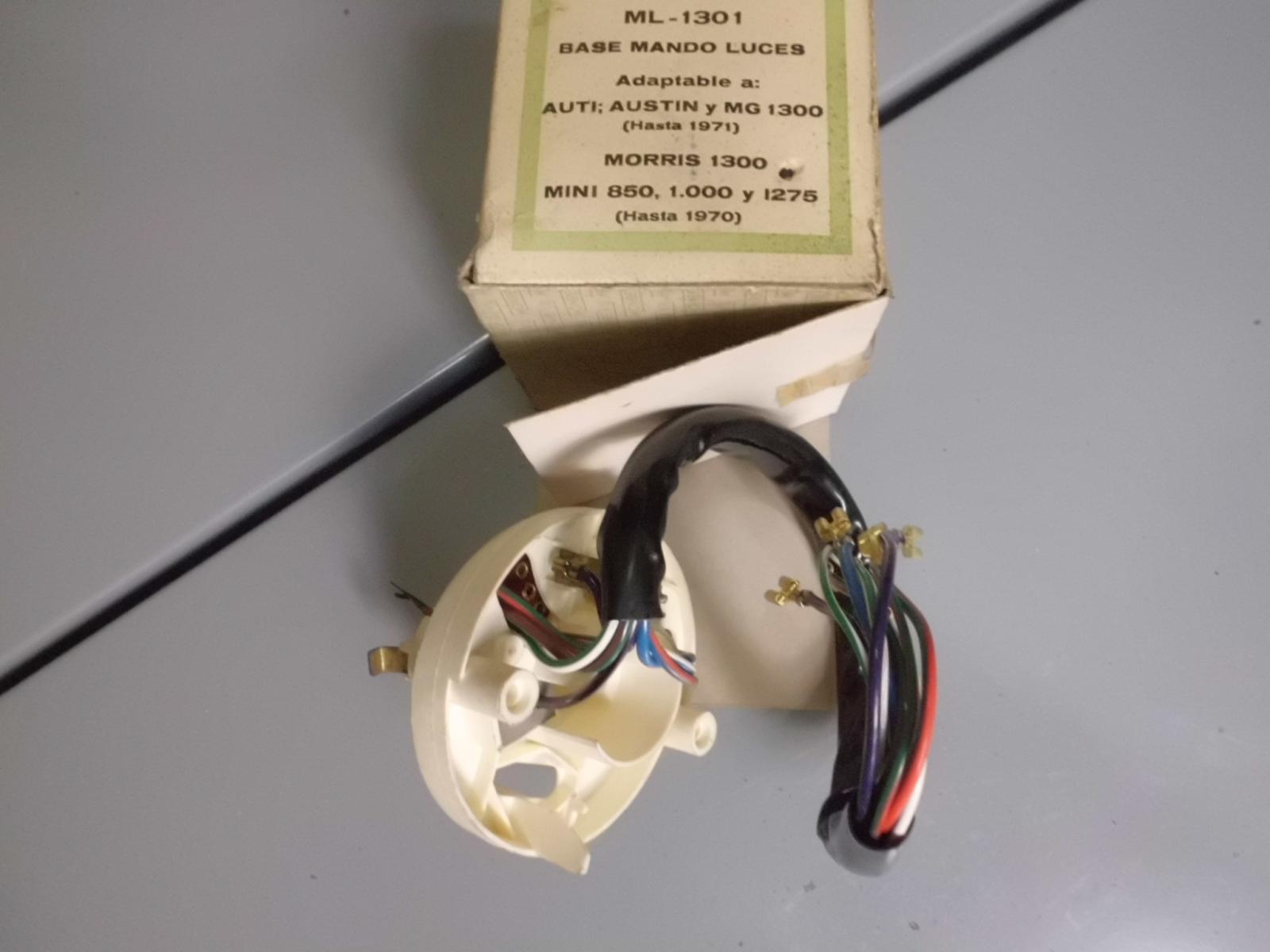 Base conmutador de luces Austin, MG, Morris y Mini