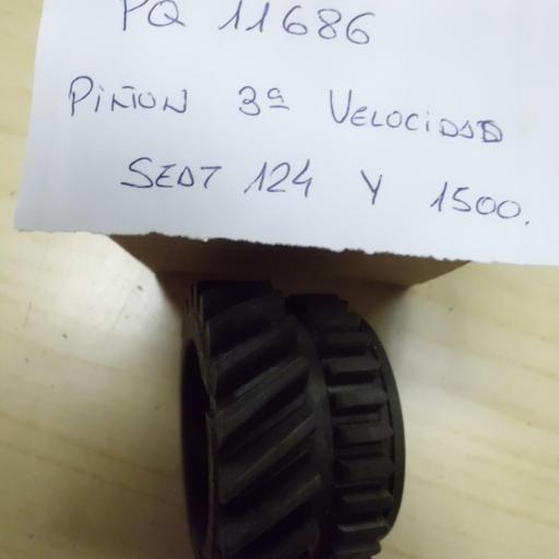 PIÑON 3 VELOCIDAD SEAT 124 Y 1500