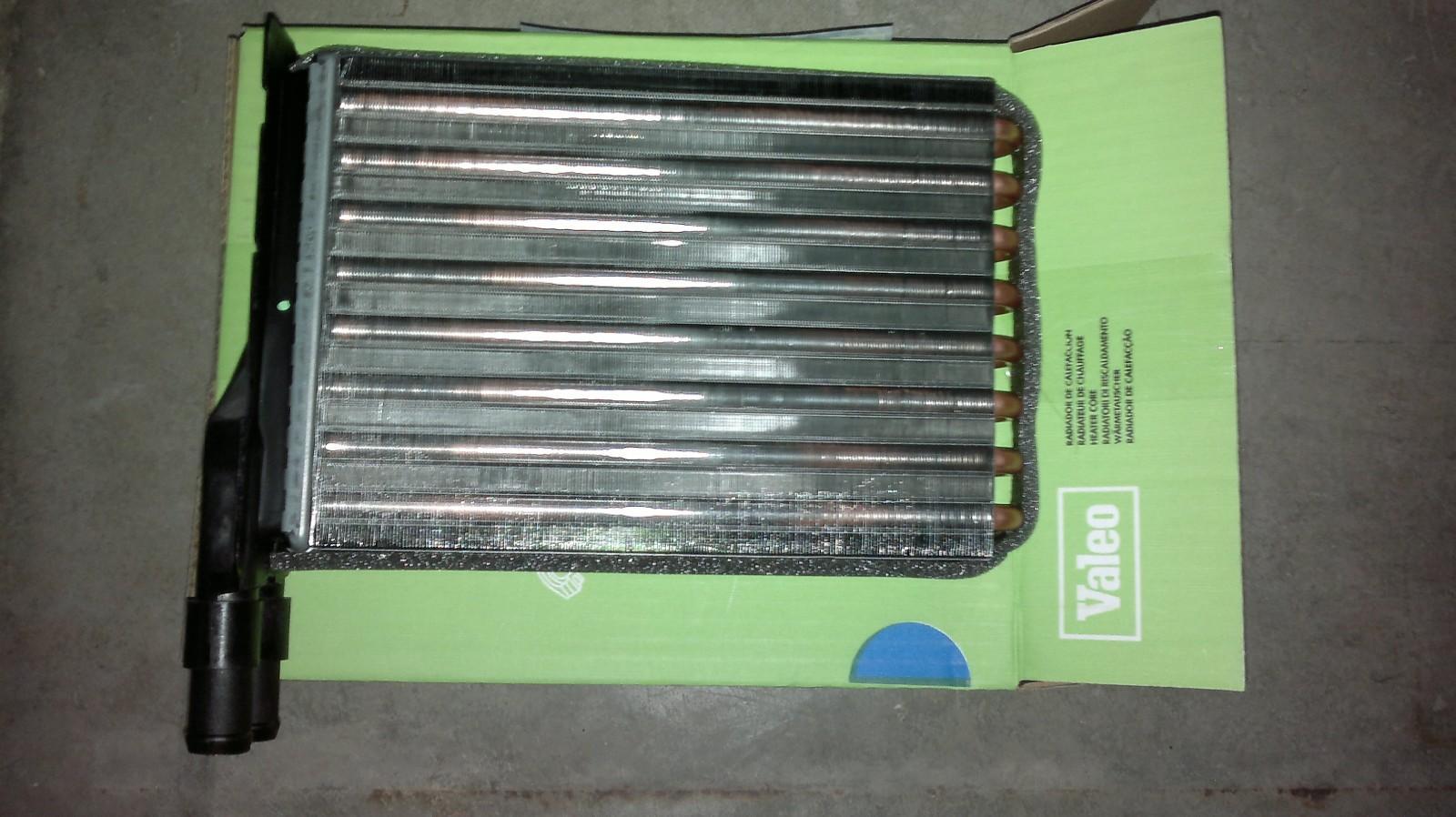 Radiador calefacción renault 9 11 y Super 5