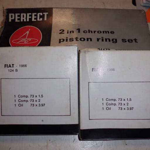 Segmentos Seat 124 73,50 mm