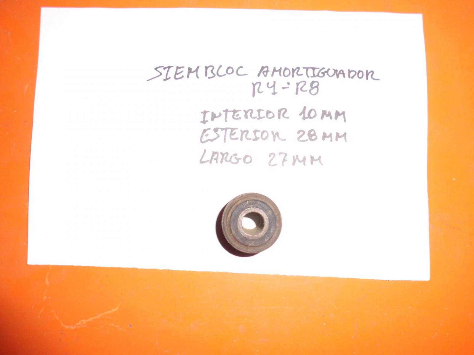 SIEMBLOC AMORTIGUADOR RENAULT 4 Y 8