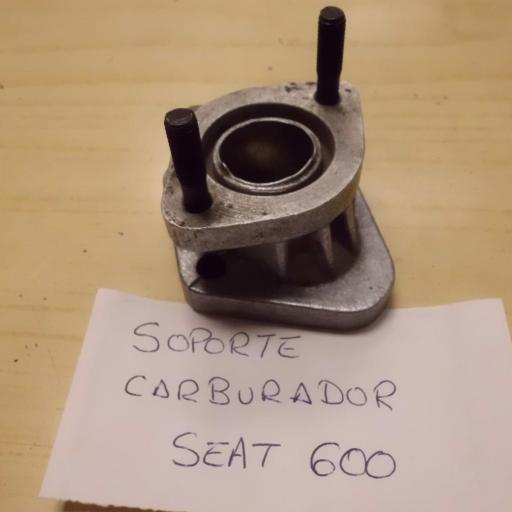 SOPORTE CARBURADOR SEAT 600