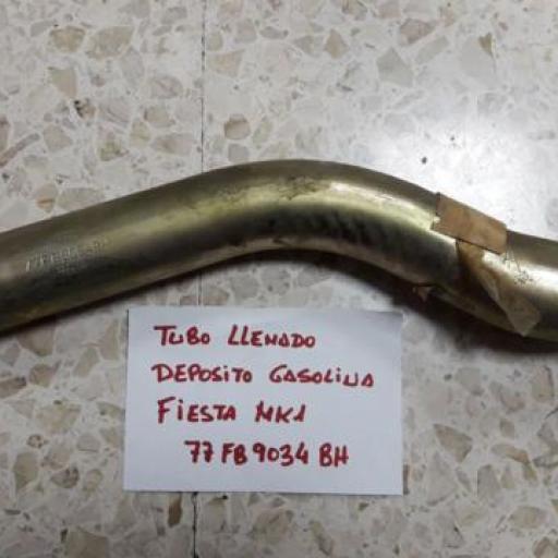 TUBO LLENADO GASOLINA FORD FIESTA MK1