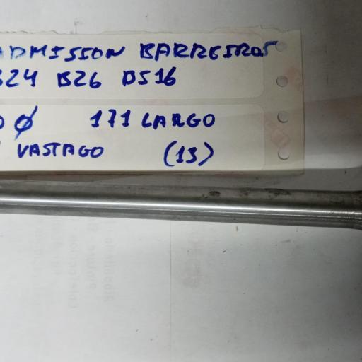 VALVULA ADMISION BARREIROS B24 B26 BS16