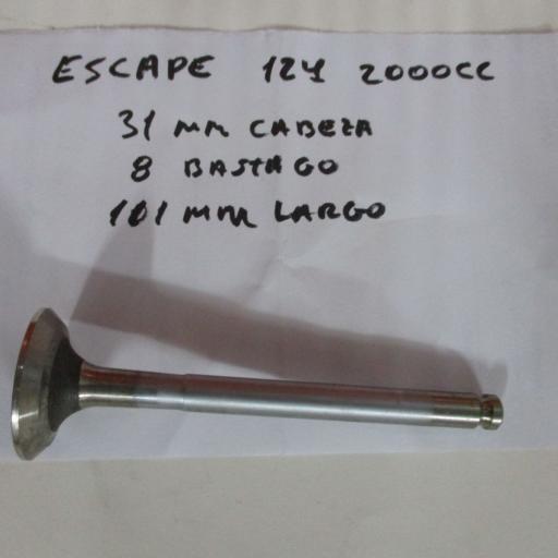VALVULA ESCAPE 124 2000