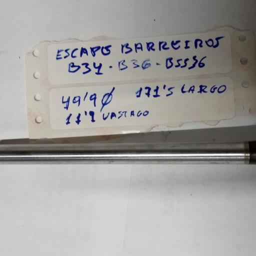 VALVULA ESCAPE BARREIROS B34 B36