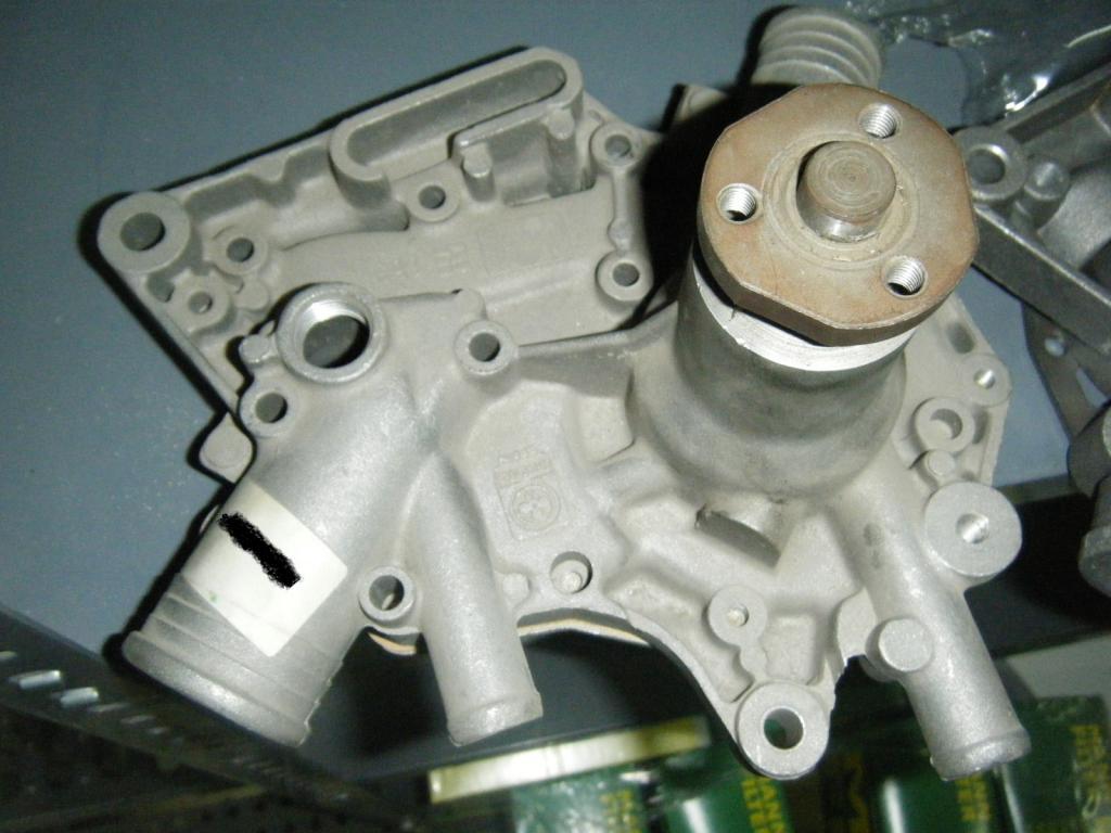 Bomba de agua de Renault 4, Renault 5 y Renault 6 con motores 1100cc