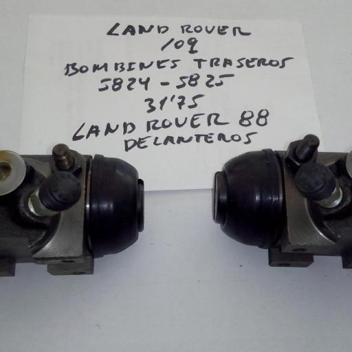 BOMBINES FRENO DELANTEROS LAND ROVER 88 Y TRASERO LAND ROVER 109