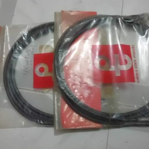 Cable cuentakilómetros de Seat 850 4 puertas.