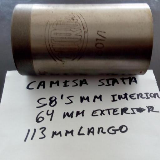 CAMISA MOTOR SIATA