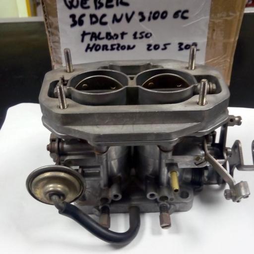 CARBURADOR WEVER 36 DCNV 3100 6C [1]