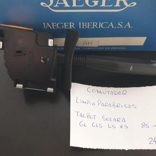 CONMUTADOR LIMPIA PARABRISAS TALBOT SOLARA Y 150 DESDE EL 85