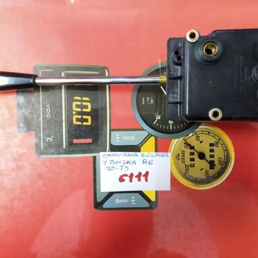 conmutador luces y bocina renault 6 hasta el 73