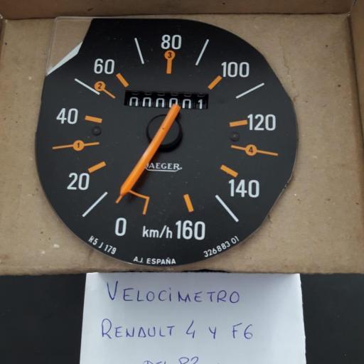 VELOCIMETRO RENAULT 4 Y F6