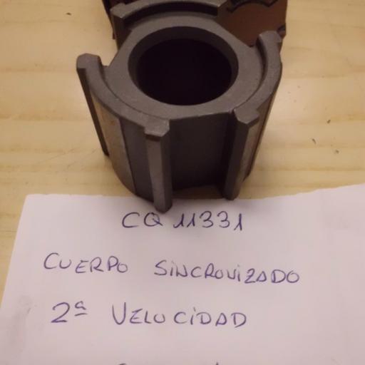 CUERPO SINCRONIZADO 2 VELOCIDAD SEAT 1400