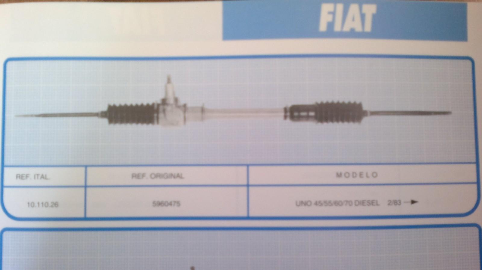 Dirección Fiat Uno