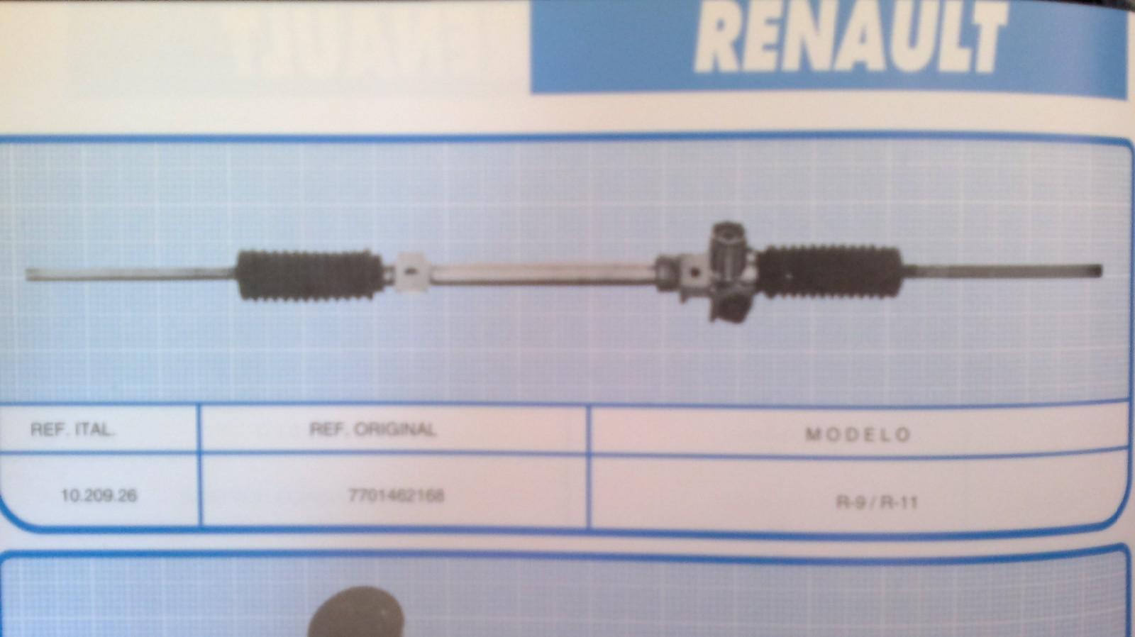 Direccion Renault 9 y 11